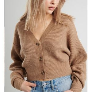 NWT Garage oversized cardigan